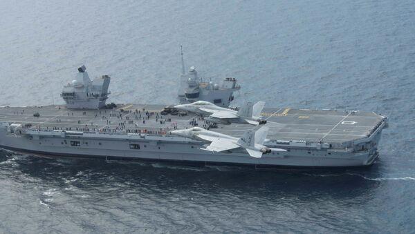 Le HMS Queen Elizabeth - Sputnik France