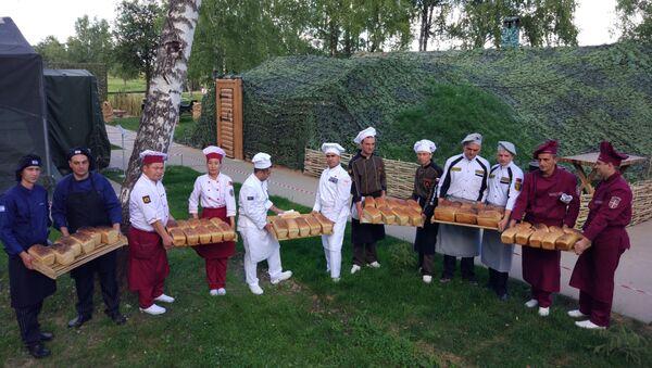 Les boulangers de six pays participé au concours de la Cuisine de campagne - Sputnik France