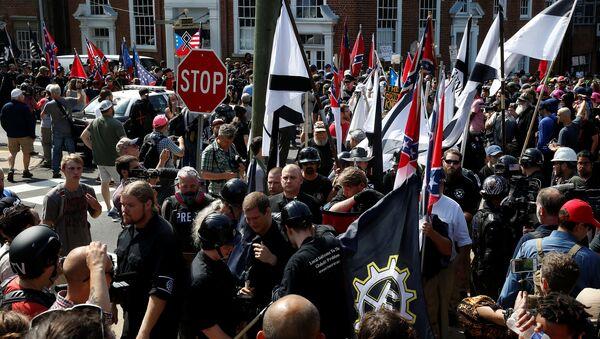 Manifestación ultraderechista en Charlottesville, EEUU - Sputnik France