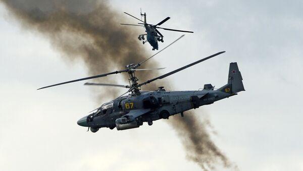 Ka-52  Alligator  attack helicopter  (File) - Sputnik France
