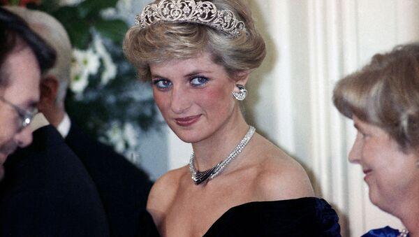 La princesse Diana à la réception en l'honneur des membres de la famille royale à Bonn, Allemagne, 1987 - Sputnik France