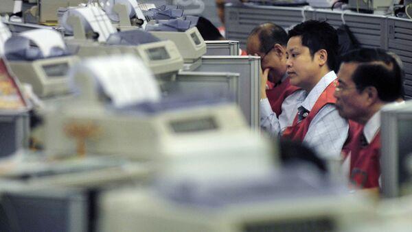 La bourse de Hong Kong a fermé sa salle de marchés aux courtiers - Sputnik France