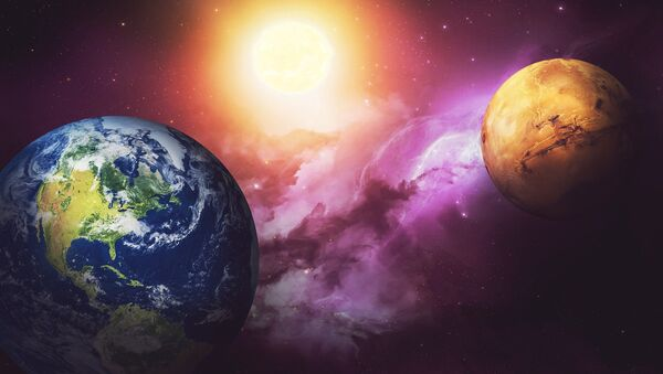 Mars et la Terre - Sputnik France