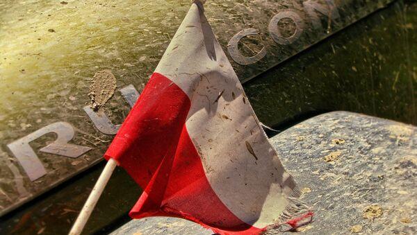 Un drapeau polonais - Sputnik France