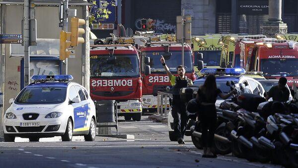 La police à Barcelone - Sputnik France