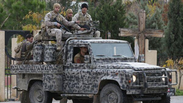 L'armée libanaise à Baalbek (image d'archives) - Sputnik France