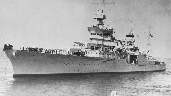 USS Indianapolis - Sputnik France