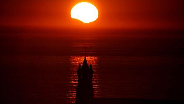 une éclipse solaire (image d'illustration) - Sputnik France