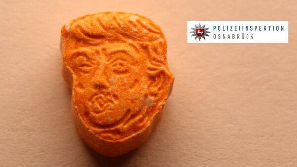 ecstasy à l'effigie de Trump - Sputnik France