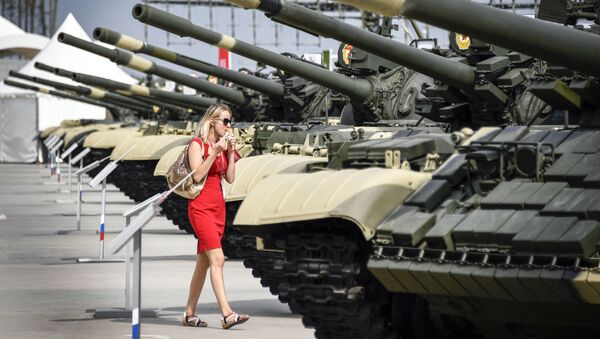Le Forum international militaro-technique Armée-2017 en Russie - Sputnik France
