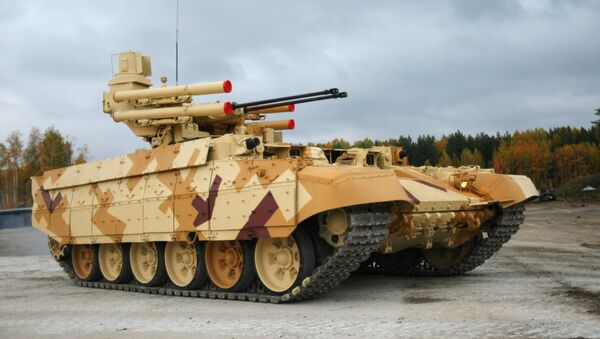 Véhicule de combat et de soutien de chars Terminator - Sputnik France