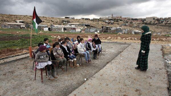 Une école en Palestine - Sputnik France