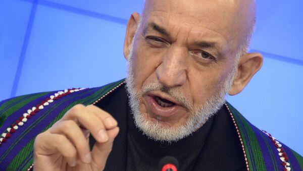 Hamid Karzai - Sputnik France