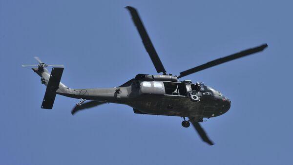 Un hélicoptère US Black Hawk (image d'illustration) - Sputnik France