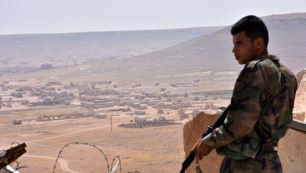 Un soldat syrien dans la province d'Alep - Sputnik France
