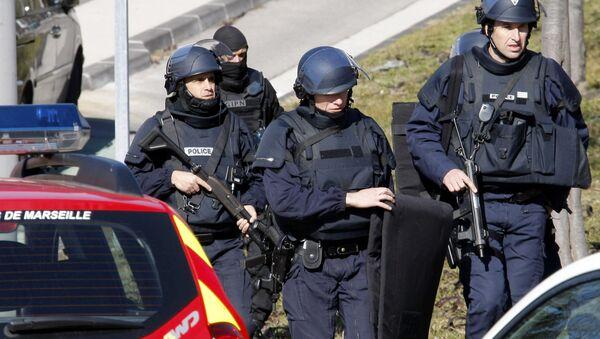 Police officers at  Marseille, southern France - Sputnik France