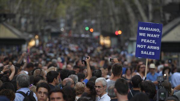 manifestation en Catalogne - Sputnik France