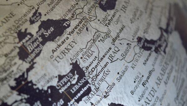 Carte du Moyen-Orient - Sputnik France