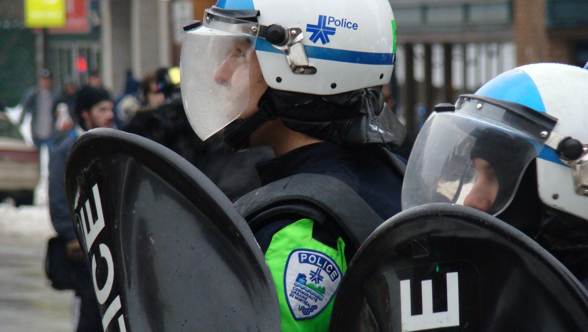 Montreal police - Sputnik France, 1920, 19.02.2021
