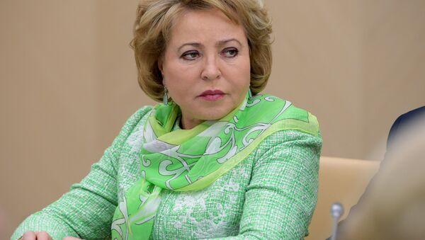 Valentina Matvienko - Sputnik France