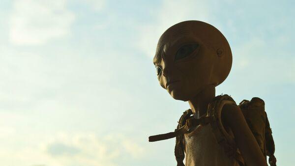 Un extraterrestre (imagen referencial) - Sputnik France