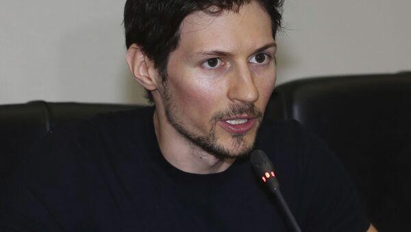 Создатель мессенджера Telegram Павел Дуров - Sputnik France