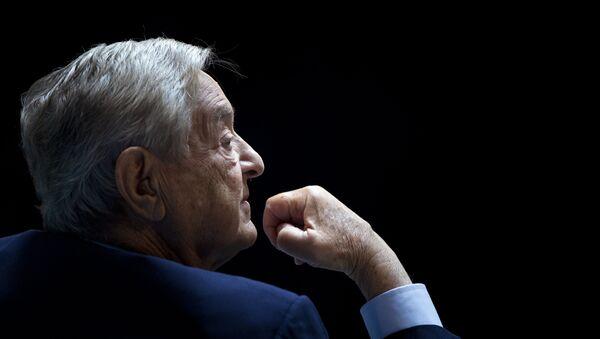 George Soros, multimillonario estadounidense - Sputnik France