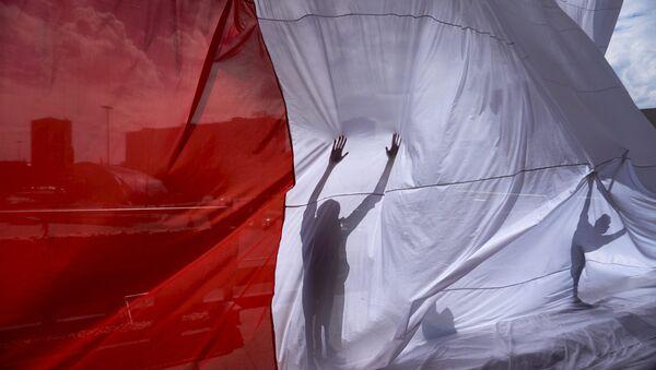 Drapeau polonais - Sputnik France