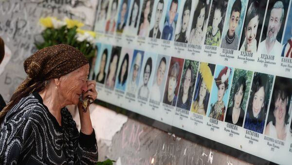 Memoriale della scuola di Beslan - Sputnik France