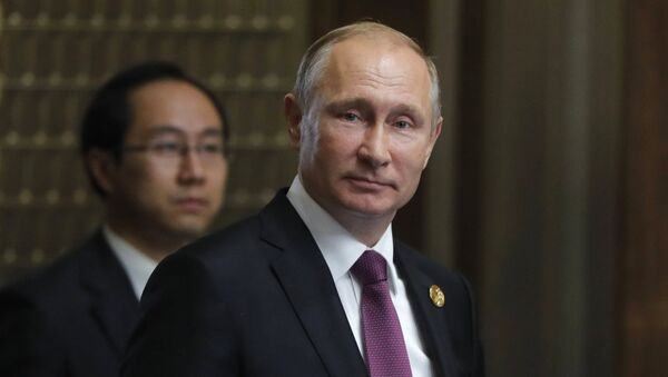 Wladimir Putin bei BRICS-Gipfel - Sputnik France