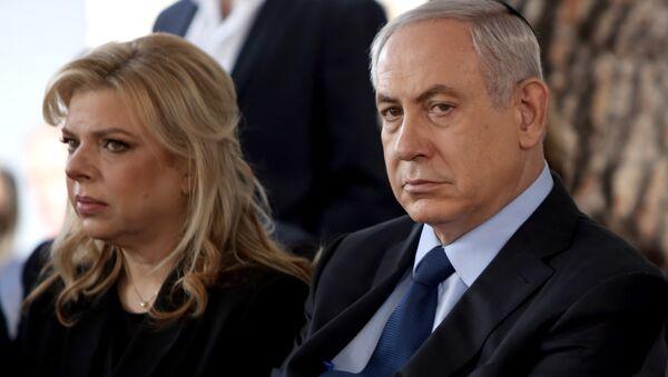 Benjamin Netanyahu et sa femme Sara - Sputnik France