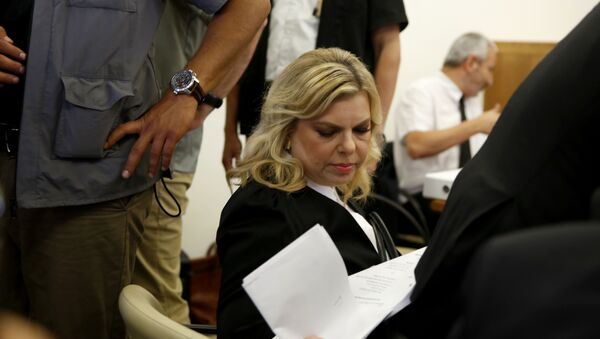 Sara Netanyahu, the wife of Israeli Prime Minister Benjamin Netanyahu - Sputnik France