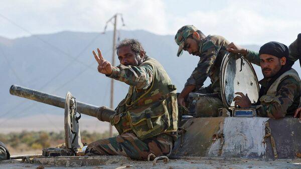 L'armée syrienne a percé le blocus de Deir ez-Zor - Sputnik France