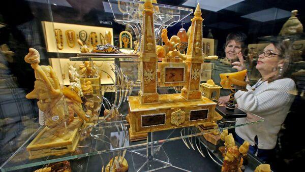 L'ouverture de la Chambre d'ambre interactive près de Kaliningrad - Sputnik France