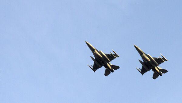 Des chasseurs F-16 belges (archives) - Sputnik France