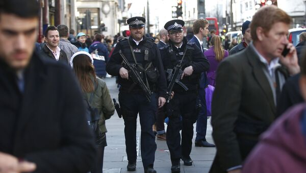 Police britannique à Londres - Sputnik France