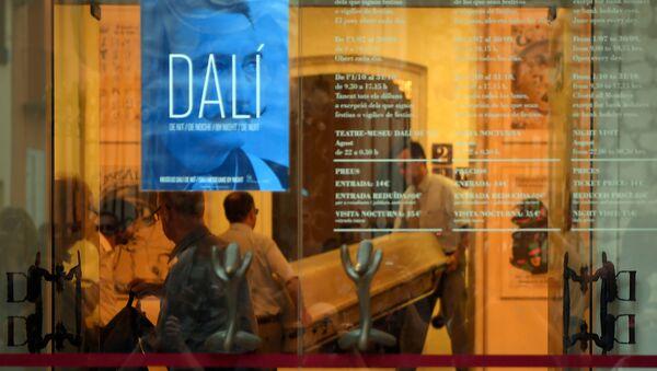 Exhumation de Dali - Sputnik France