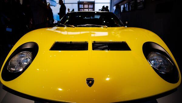 Exposition Lamborghini  - Sputnik France