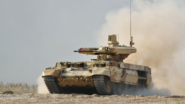Un BMPT russe du nouveau type «Terminator» - Sputnik France