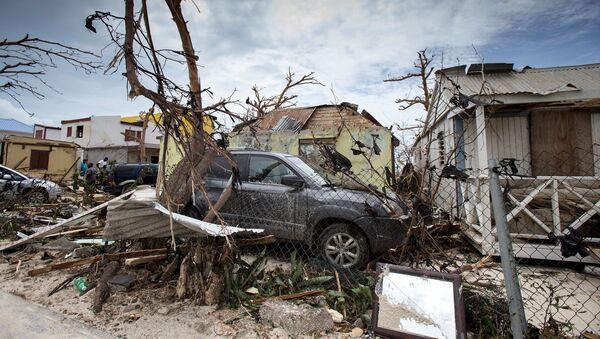 Karibik-Insel Saint Martin: Folgen des Hurrikans Irma - Sputnik France