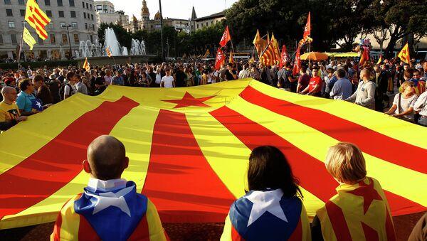 drapeau de Catalogne - Sputnik France