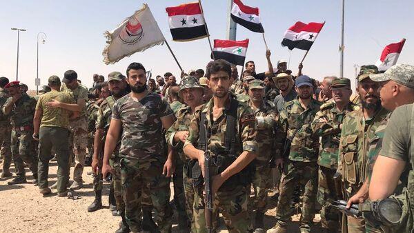 Militaires syriens - Sputnik France