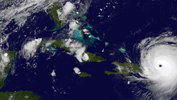 L'ouragan Irma photographié depuis l'espace - Sputnik France