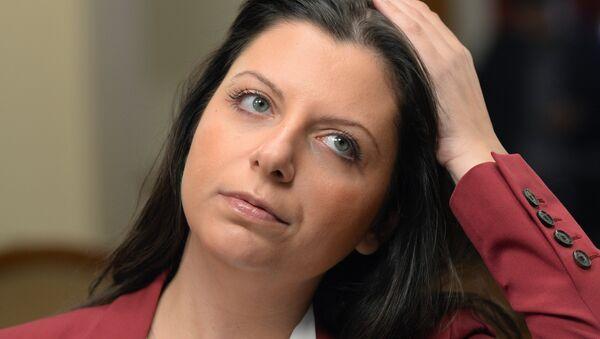 Margarita Simonyan, redactora jefa de la agencia Rossiya Segodnya y de RT - Sputnik France
