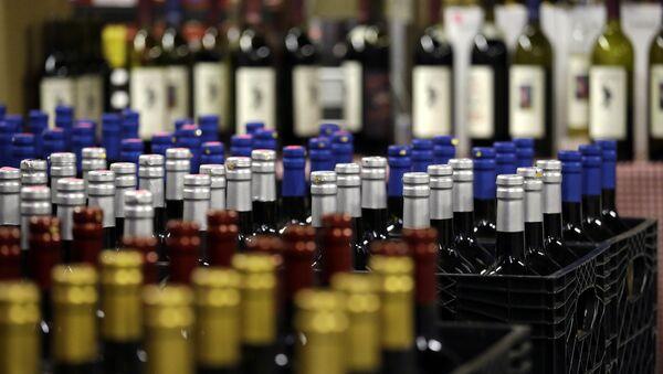 Des bouteilles de vin - Sputnik France