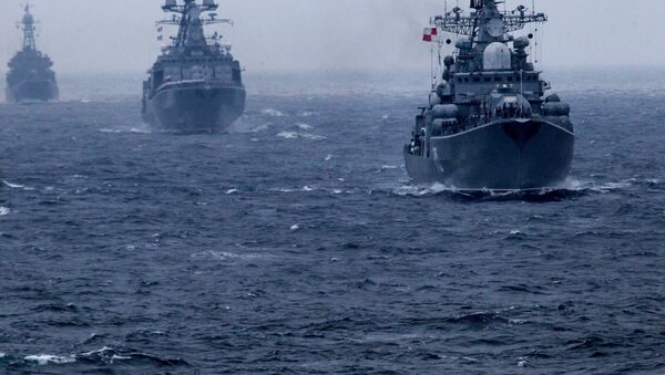 Exercices russo-chinois Joint Sea 2015 (image d'archives) - Sputnik France