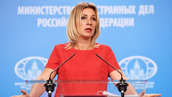 Oficiální mluvčí MZV RF Maria Zacharovová - Sputnik France