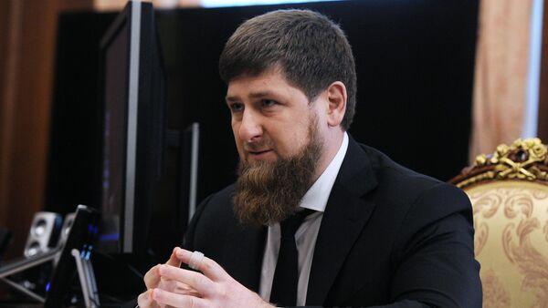 Ramzan Kadyrov - Sputnik France