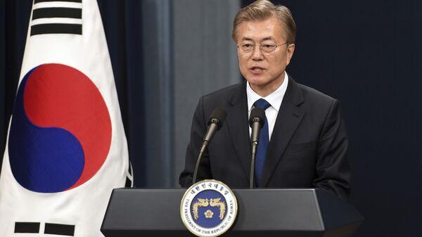 Le président sud-coréen Moon Jae-in - Sputnik France