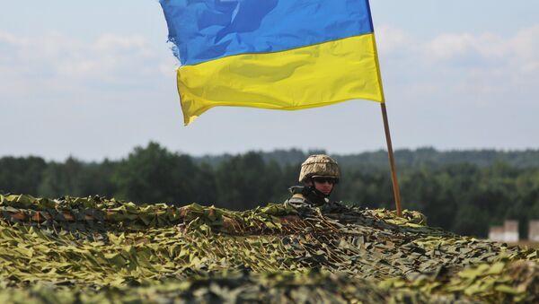 le drapeau de l'Ukraine - Sputnik France
